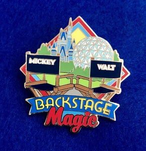 Backstage Magic Pin pin