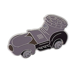 Steamboat Willie mini racer pin