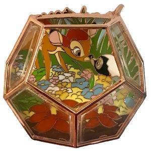 POM Where Fantasy Grows – A Disney Terrarium Series - Bambi and Flower Garden pin