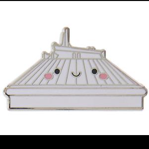 Space Mountain - Kingdom of Cute pin