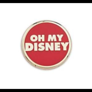 Oh my Disney logo pin