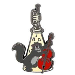 Billy Boss - Loungefly Disney The Aristocats Trumpet Spotlight Blind Box pin