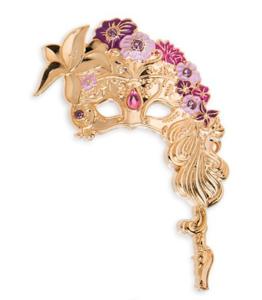 Rapunzel Masquerade mask pin