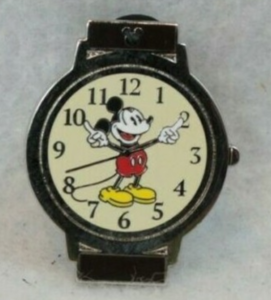 Mickey Mouse - Hidden Mickey Watch pin