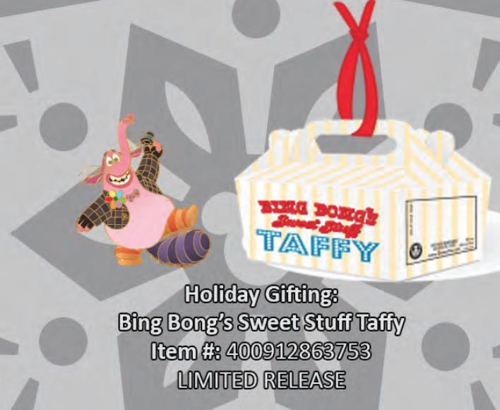 Bing Bong's sweet stuff taffy pin