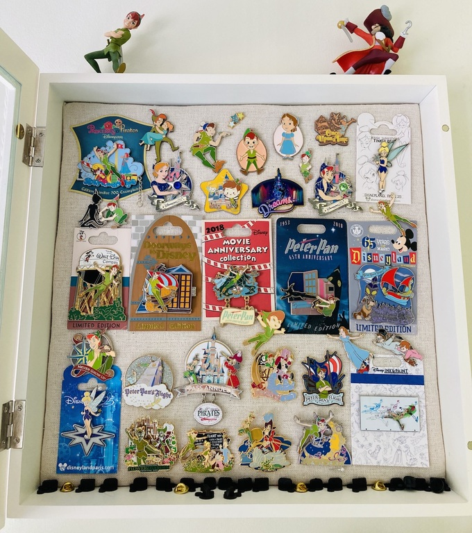 Some of Emily's Peter Pan collection