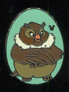 WDW - 2014 Hidden Mickey Series - Disney Birds - Big Mama pin