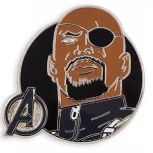 Nick Fury Avengers Assemble pin