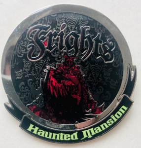 Haunted Mansion Frights pin