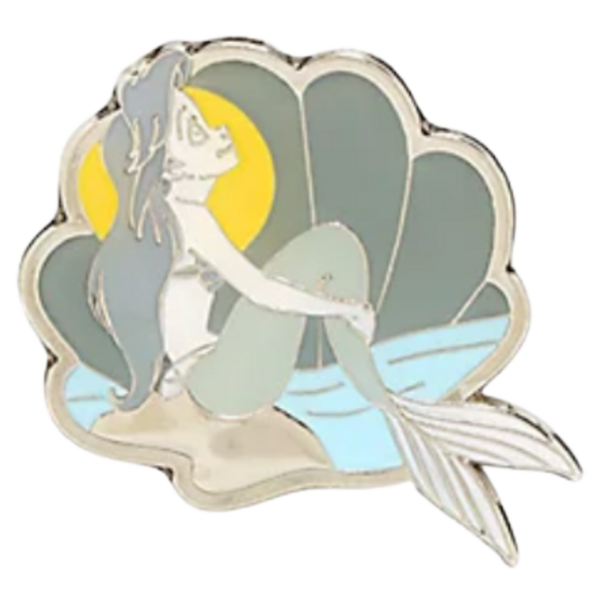 Ariel - Loungefly Disney Princesses Grayscale Moments Mystery Box pin