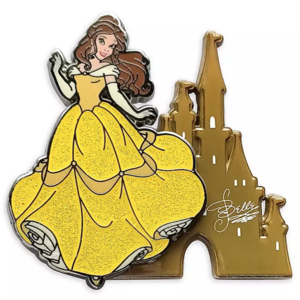 Belle with Castle 2021 pin
