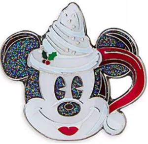 Hot Chocolate Mickey Mug pin