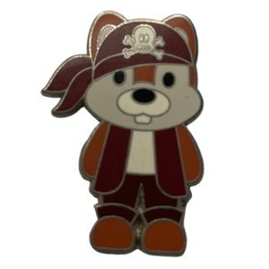 Chip - Pirates of the Caribbean - Cute Characters pin