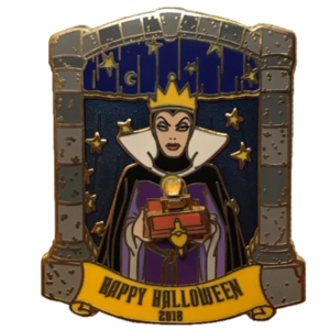 2018 Halloween with The Evil Queen - Cast Member Exclusive pin