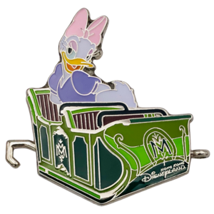 Daisy Duck in ride vehicle - Mystic Point Grand Opening 2013 pin