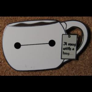 Baymax Holiday Mug pin