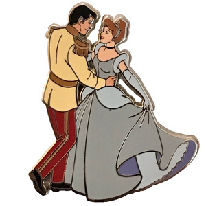 Ink and Paint Mystery Paint Can Series 2 - Cinderella and Prince Dancing pin