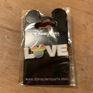 "Disney Pride ""Love"" pin"