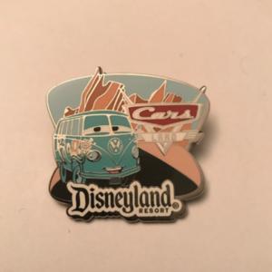 Fillmore's Costco Travel pin-Cars Land-Disneyland  pin
