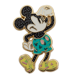 Mickey Mouse head scratch  pin