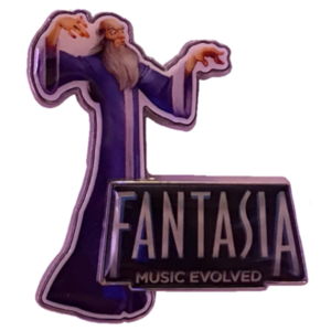 D23 2013 Expo - Fantasia: Music Evolved Video Game - Preview Gift pin