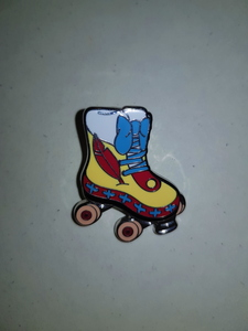 Pinocchio - Magical Mystery Roller Skate pin
