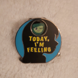 Inside Out Spinning Pin pin