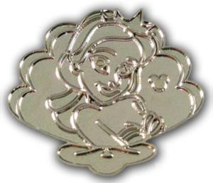 Alana - Hidden Mickey Daughters of King Triton (Chaser) pin