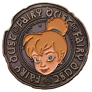 Disney's Pin Celebration 2009 - The Museum of Pin-tiquities - Ancient Coins Mystery Pack - Tinker Bell pin