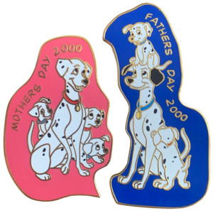 Dalmatian Mother and Father's Day 2000 pin