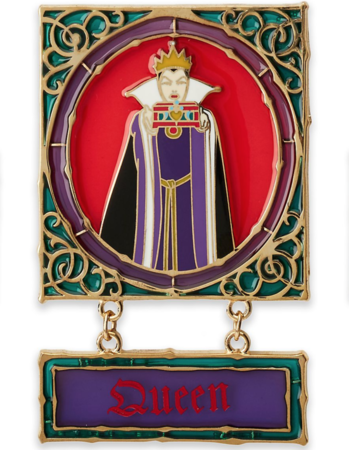 Evil Queen with box  pin