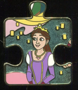 Character Connection Mystery - TANGLED - Queen Arianna pin