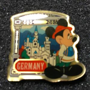 Morinaga Germany Mickey pin