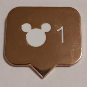 Mickey Instagram Icon Fantasy pin