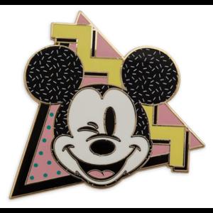 Mickey winking 1990s pin