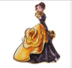 Belle Designer Masquerade  pin