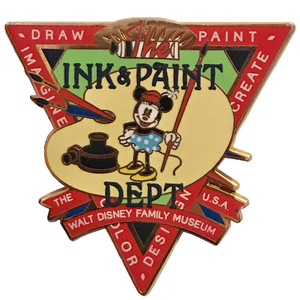 The Walt Disney Family Museum - Ink and Paint Department: Minnie Mouse pin