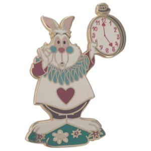 White Rabbit dressed as Royal Herald - Disneyland Paris pin