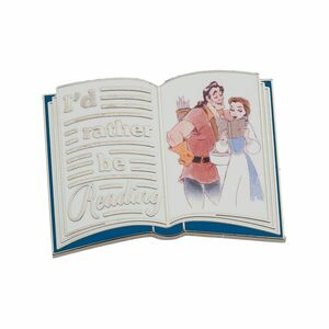 Belle and Gaston book pin pin