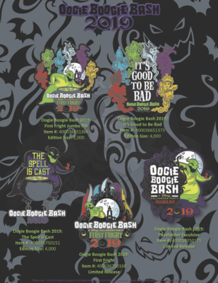 Oogie Boogie Bash 2019 pin release