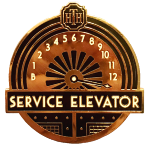 D23 - 2019 (10th Anniversary) Gold Member Gift - Tower of Terror pin