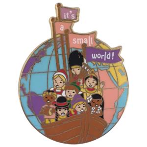 It's a small world - Disneyland Paris Attractions pin