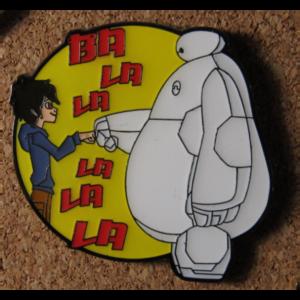 Hiro and Baymax Fist Bump pin