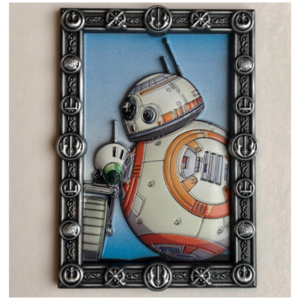 BB-8 and D-O Portrait pin