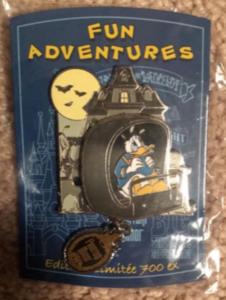 Donald in Doom Buggy pin
