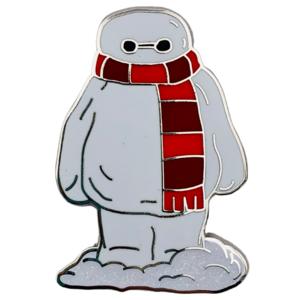 Baymax - Happy Holidays Snowman Mystery Box pin