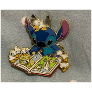 Stitch Storytime ACME Ducks pin