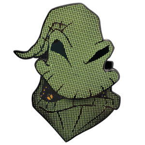 Oogie Boogie sliding mouth - Loungefly pin