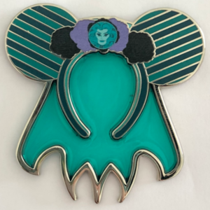 Minnie Main Attraction Ears Haunted Mansion pin