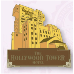 Tower of Terror - Attraction pin
